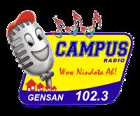 Campus Radio 102.3 Gensan Logo 2008