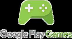 Google play games wordmark