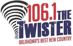 KTGX 106.1 The Twister