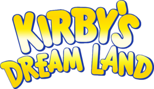 Kirby's Dream Land Logo