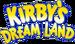 Kirby's Dream Land Logo