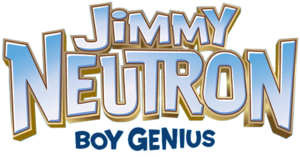 Jimmy Neutron Boy Genius title logo