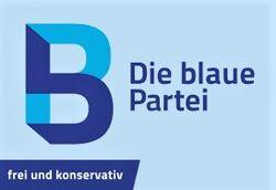Logo Die blaue Partei