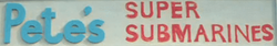 Pete's Super Submarines 1965
