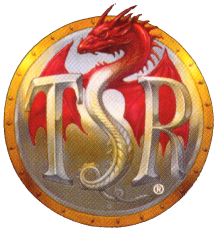 Tsr logo gold disc