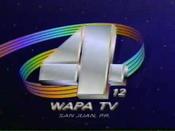 WAPA-TV's Video ID from 1993