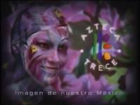 XHDF-TV Azteca 13 (2001) Flores
