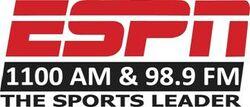 ESPN AM 1100 98.9 FM KWWN
