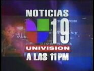 Kuvs noticias 19 univision 11pm package 1997