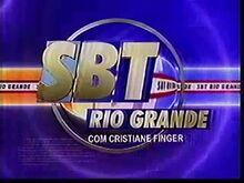 SBT Rio Grande com Cristiane Finger