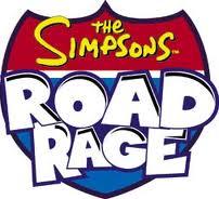 The simpsons road rage logo