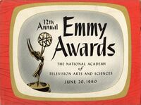 12th Primetime Emmy Awards poster