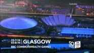 BBC Two Scotland Commonwealth Games ident
