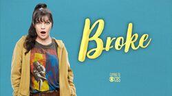 Broke (CBS) titlecard
