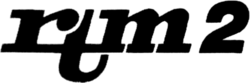 RTM2 logo 1987