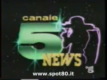 Canale 5 News 1982