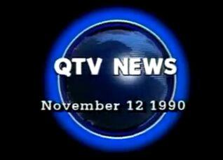 QTV News 1990