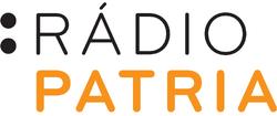 Rádio Patria Stacked logo