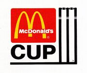 1985 86 McDonalds Cup Logo