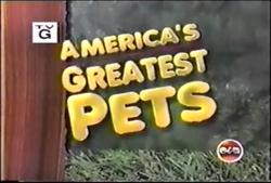 America's Greatest Pets