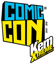 Comic Con Kem Xtreme 2018 (Negro)