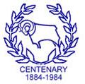 Derby County FC logo (1984-1985)