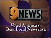 KCAL 9 News 1996 ID