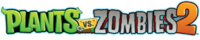Plants vs. Zombies 2 horizontal logo