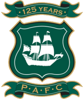 Plymouth Argyle FC logo (125 years)