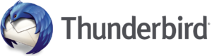 Thunderbird 2011 logo and wordmark
