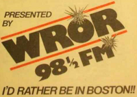 WROR FM Boston 1984