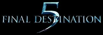 Final Destination 5 movie logo