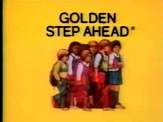 Golden Step Ahead Logo