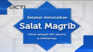 Happy performing Maghrib prayer on RCTI