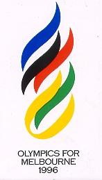 Melbourne 1996 Olympic bid logo