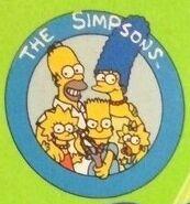 The Simpsons merchandise logo (circa. early 1990's)