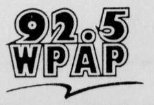 WPAP - 92.5 WPAP -June 4, 1994-