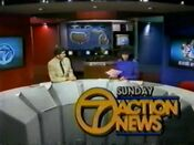 WXYZ Sunday Action News 1985