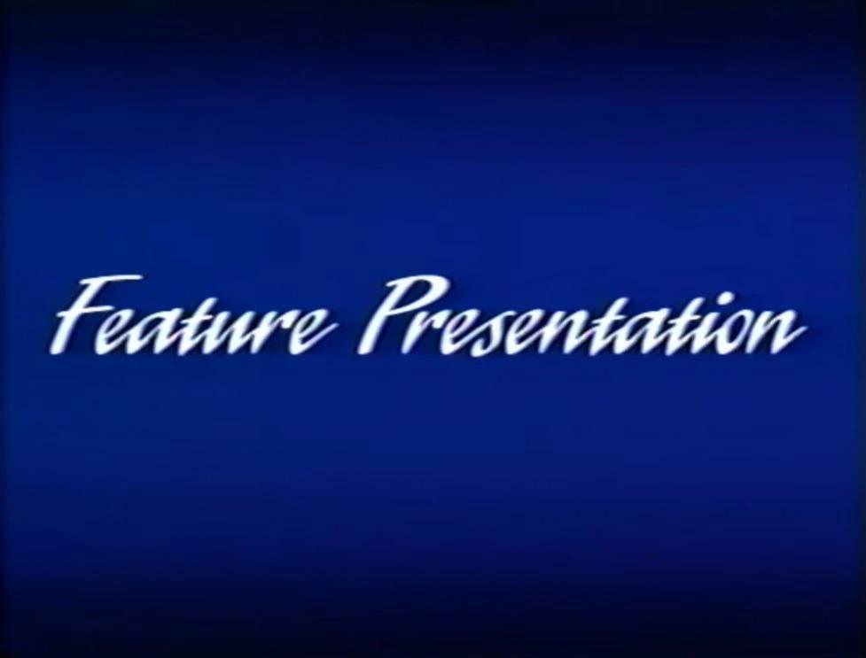 Walt Disney Studios Home Entertainment Buena Vista Feature Presentation Logo 1991 b