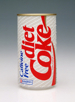 Caffeine free diet coke from 1980s