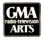 GMA Radio-Television Arts Print Logo 1974
