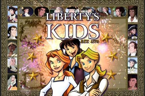 Liberty's Kids On-Screen Logo
