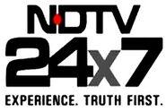 Logo of NDTV 24x7