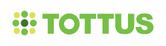 Tottus logo 2007 con fondo blanco, usado en tiendas