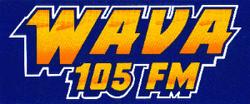 WAVA 105 logo