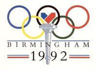 Birmingham 1992 Olympic bid logo