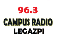 Campus Radio 96.3 Legazpi Logo July 2002