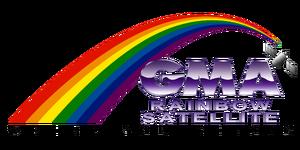 GMA Rainbow Satellite Logo 1992