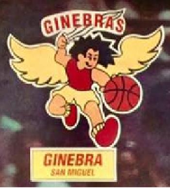 Ginebra San Miguel logo 1995