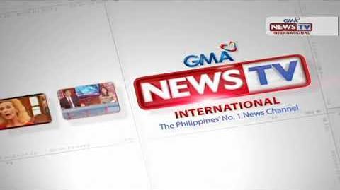 Ident GMA NEWS TV International - from 2018